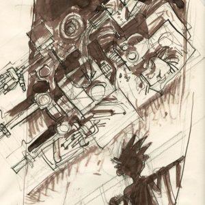 Hubert Czajkowski - Konstrukt szkicownik