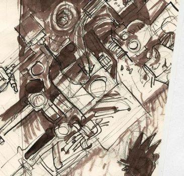 hubert-czajkowski-konstrukt-szkicownik-komiks