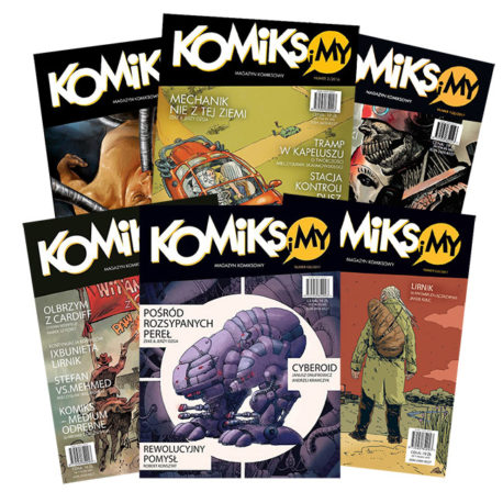 komiks i my 1-6, jan hardy