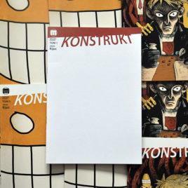 Konstrukt 1 blank cover